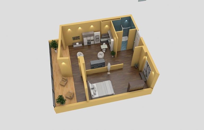 Жилой дом в 100 метрах от моря