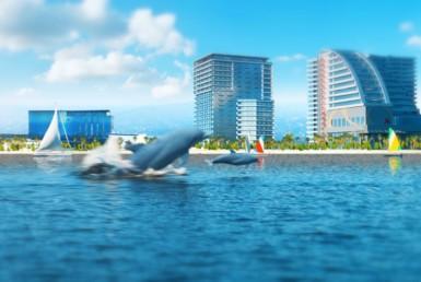 Новостройка у моря и нового бульвара по низкой цене