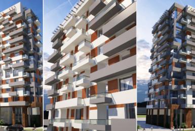 Квартиры на новом бульваре Батуми