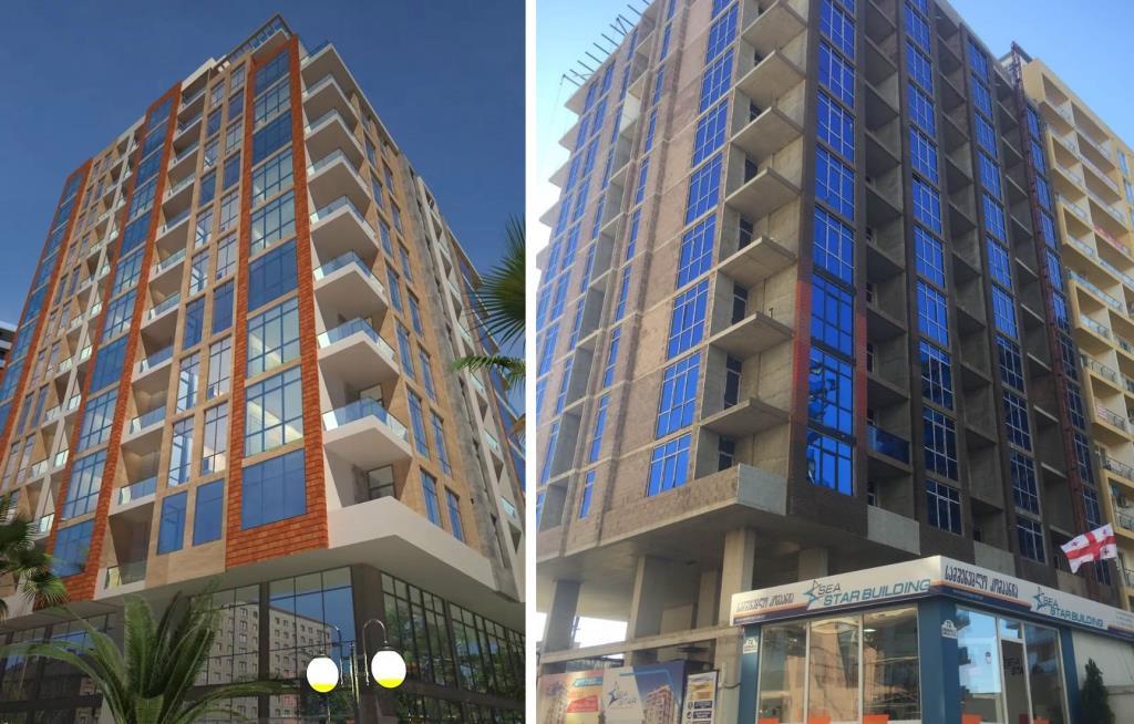 Квартиры в ЖК Sea Star Building на Новом Бульваре