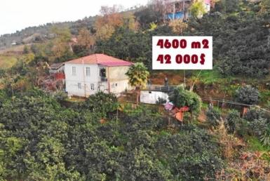 Продается земельный участок 4600 м2 с домом возле Чакви