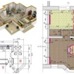 Дизайн-проект ремонта квартиры в Новостройке в Батуми